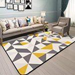 alfombras nordicas baratas estilo nordico alfombras modernas, geométricas, azules, infantiles, para sala, comedor, cocina, cuartos,