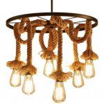 lamparas de techo colgantes nordicas led dormitorio cocina de madera lampara estilo nordico colgante
