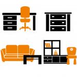 muebles nordicos, muebles para tv, mesas sillas taburetes estanterias aparadores escritorios mesas nido comedor centro mesita noche estilo nordico salon comedor habitacion cocina baño nordico