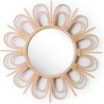 espejos nordicos decorativos planos de baño de agua para sala peluqueria espejos de pared