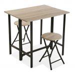 mesas de comedor estilo nordico extensibles, de madera, modernas, redondas baratas de madera